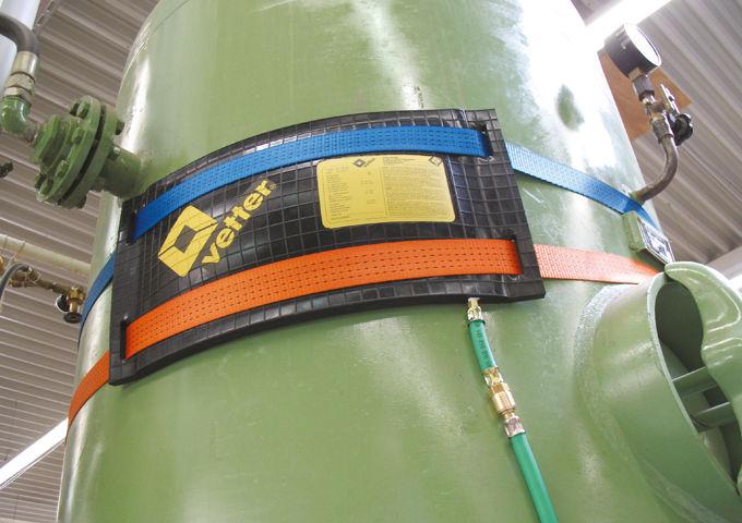 Leak Sealing Kraft Bag : Vetter leak sealing bag set w swivel eyes diamondback